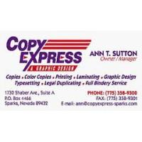 Copy express graphic design sparks nv photo tour malvernweather Images